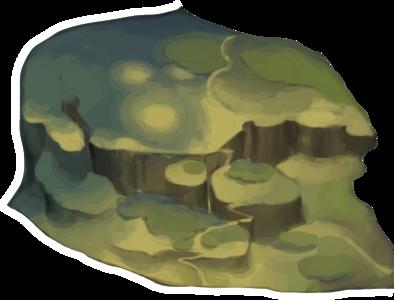 おぼろげな野原の画像