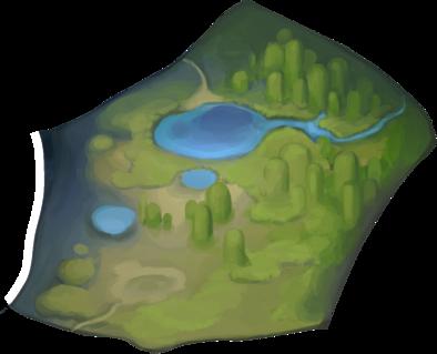 白い湿地帯の画像