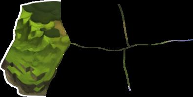 竜巻の草原の画像