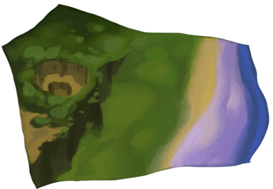 月暈の海辺のアイコン
