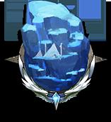 古い氷河の画像