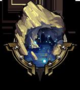 快適な石灰岩の洞窟の画像