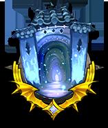 雄大な氷の殿堂の画像