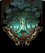 枯れ木の森の画像
