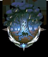 鬱蒼たる古い森の画像