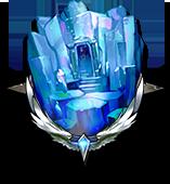 冷たい水晶庭園の画像