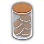 瓶詰めクッキーの画像