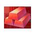 溶岩石の鋳塊セットの画像