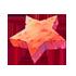 赤い星石の画像