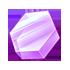 紫のヘキサキューブの画像