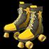 イエローローラースケートの画像