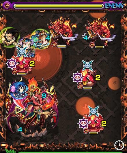 焔摩天ステージ2攻略