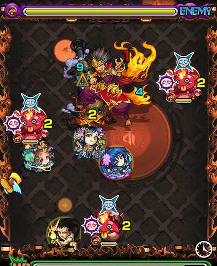 焔摩天スステージ3攻略