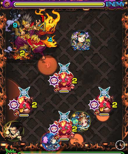 焔摩天ステージ4攻略