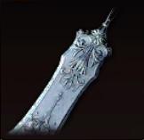 シルバーテーブルナイフの画像
