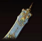 ゴールドテーブルナイフの画像