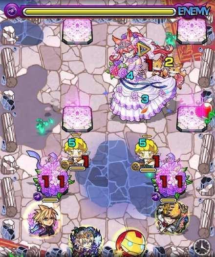 狐の花嫁ジュンのステージ1攻略