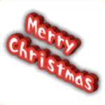 クリスマスタグの画像