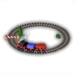 おもちゃ機関車の画像