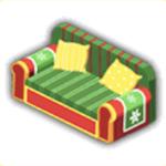 クリスマスソファの画像