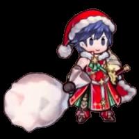 クリスマスクロムのミニキャラ