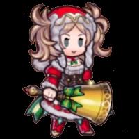 クリスマスリズのミニキャラ