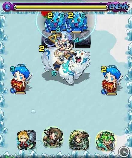 雪女こゆきステージ1攻略