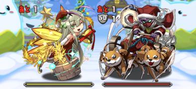 クリスマスダンジョンの4F