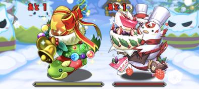 クリスマスダンジョンの1F