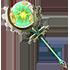 緑鈴核の杖の画像