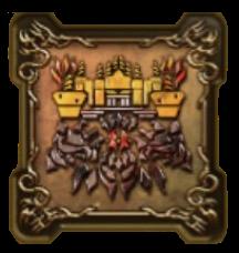 鬼岩城の紋章・頭
