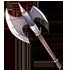 白騎士の斧の画像