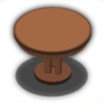 バーテーブルの画像