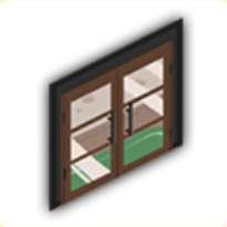 ガラスドアの画像