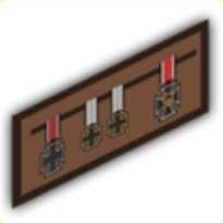 勲章コレクションの画像