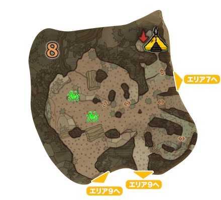 古代樹の森_マップ8