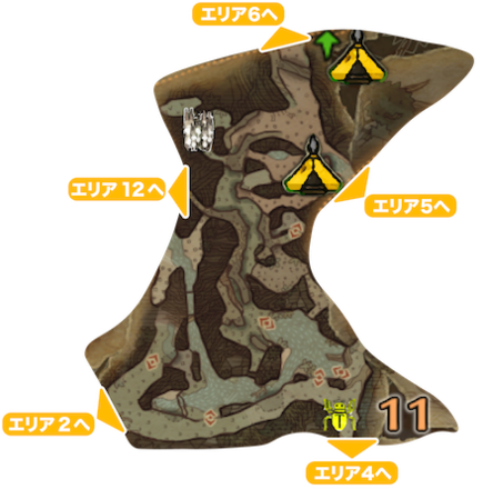 古代樹の森_マップ11