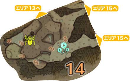 古代樹の森_マップ14