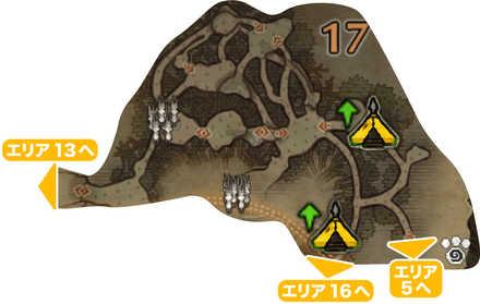 古代樹の森_マップ17