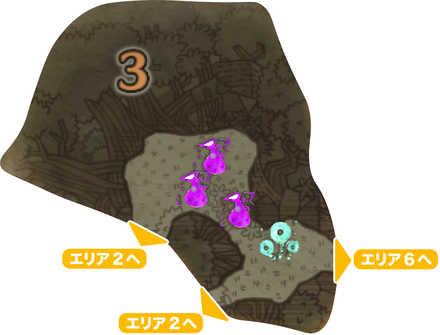 大蟻塚の荒地_マップ3
