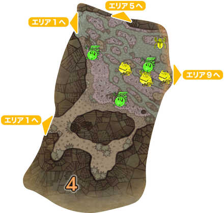 大蟻塚の荒地_マップ4
