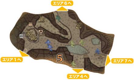 大蟻塚の荒地_マップ5