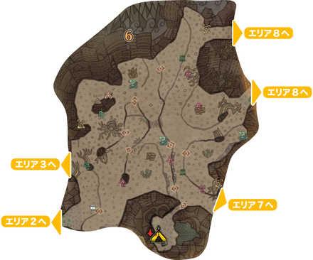 大蟻塚の荒地_マップ6