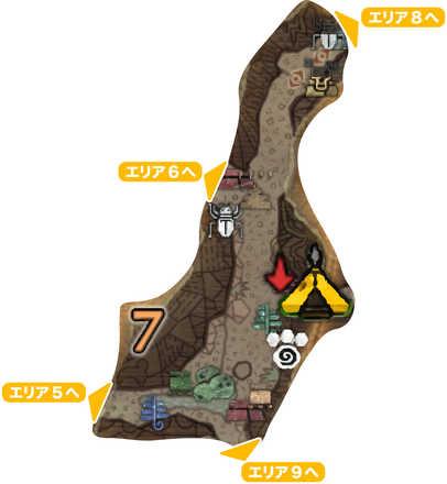大蟻塚の荒地_マップ7