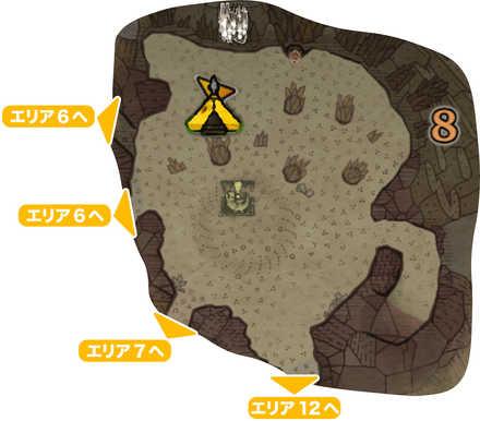 大蟻塚の荒地_マップ8