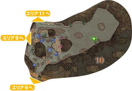 大蟻塚の荒地_マップ10