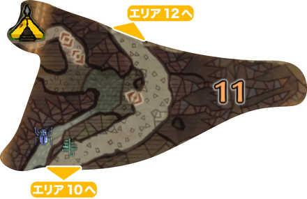 大蟻塚の荒地_マップ11(第二層)