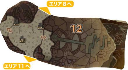 大蟻塚の荒地_マップ12