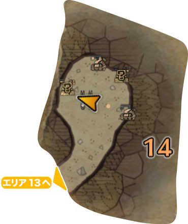 大蟻塚の荒地_マップ14