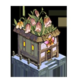 枯れた花屋の画像